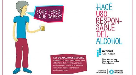 Uso responsable del alcohol